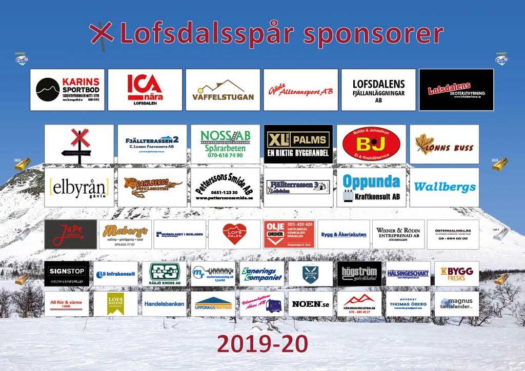 Sponsorer 2019-2020