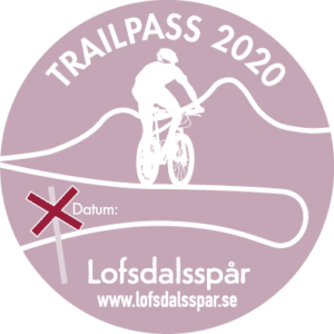 Trailpass cykel Lofsdalen.